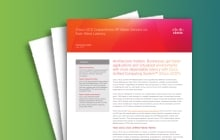 Cisco ONE Enterprise Networks Architecture white paper