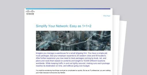 Verkkotoimintojen yksinkertaistaminen on helppoa.