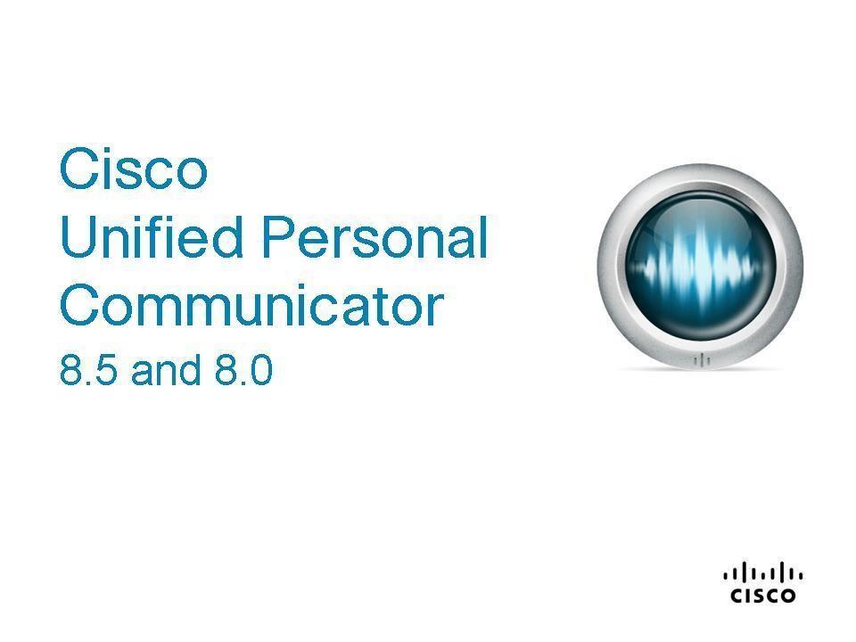 video quick start guide for cisco unified personal communicator 8 5 rh cisco com Cisco Unity Connection Cisco Unity Connection