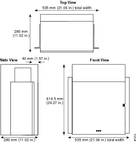 Standard Size Of Wooden Door Frame : Cisco ONS 15454 Hardware Installation Guide - Installing the ONS 15454 ...