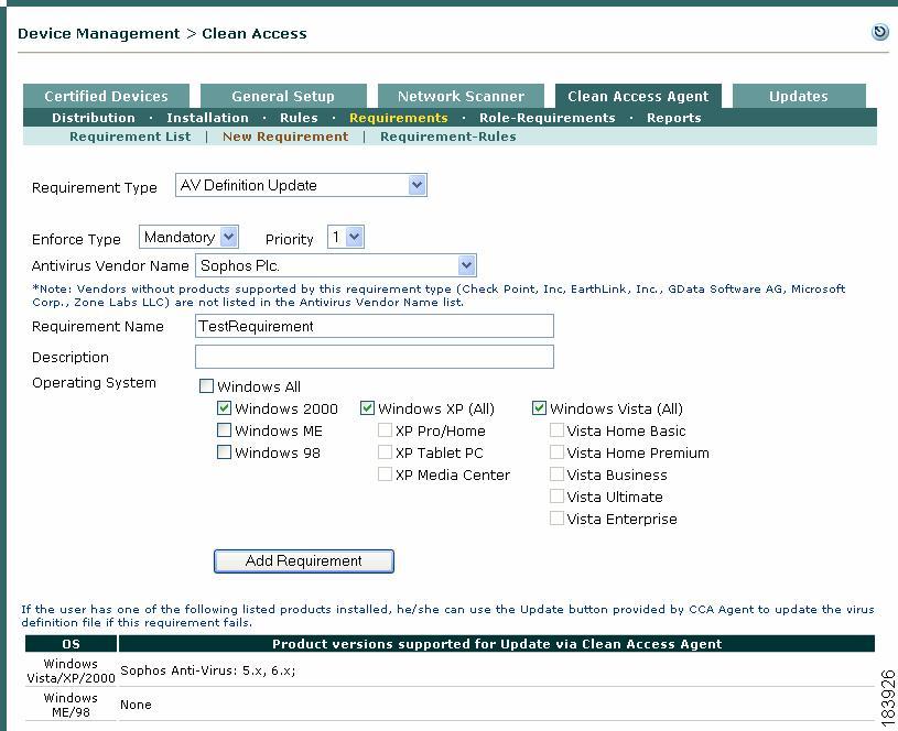Cisco NAC Appliance Configuration Quick Start Guide, Release