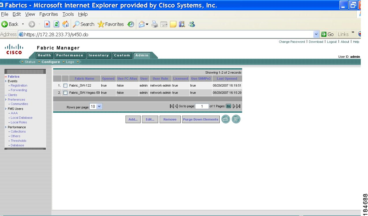 Getting Started - Fabric Manager Web Server [Cisco MDS 9000