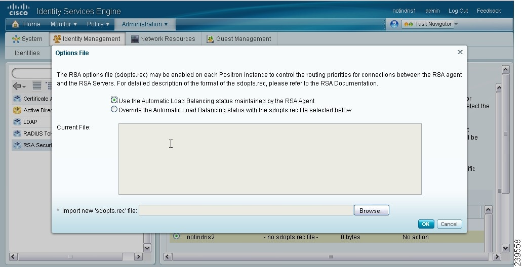 Managing External Identity Sources [Cisco Identity Services