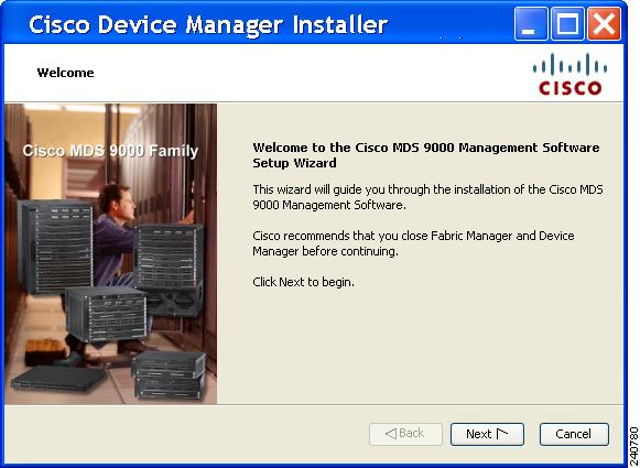 Getting Started - Installation of Cisco MDS SAN-OS and
