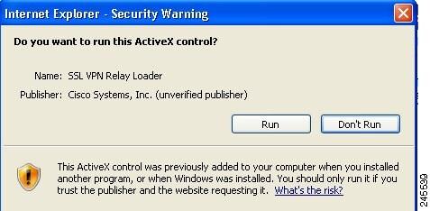 cisco ssl vpn relay loader download