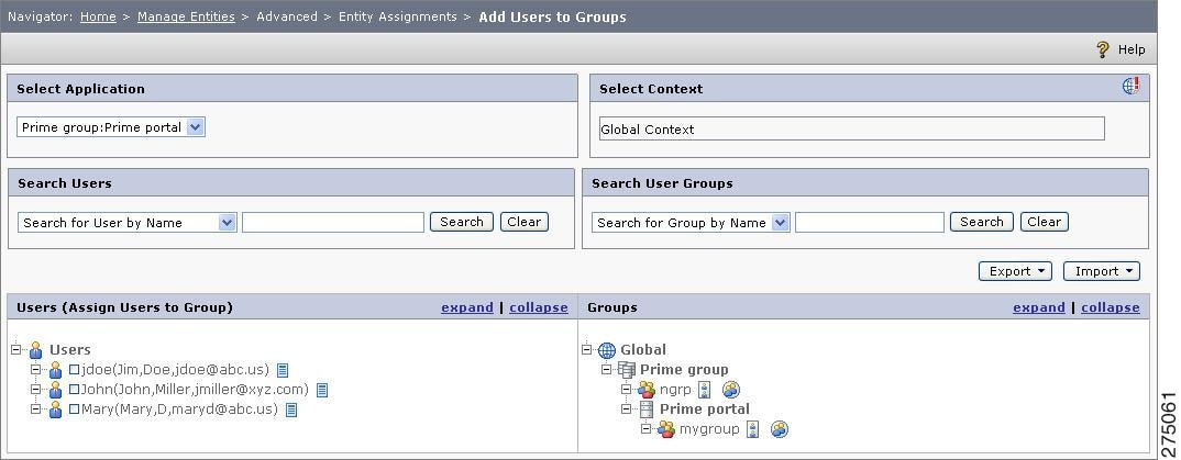 CEPM User Guide - Manage Entities [Cisco Policy