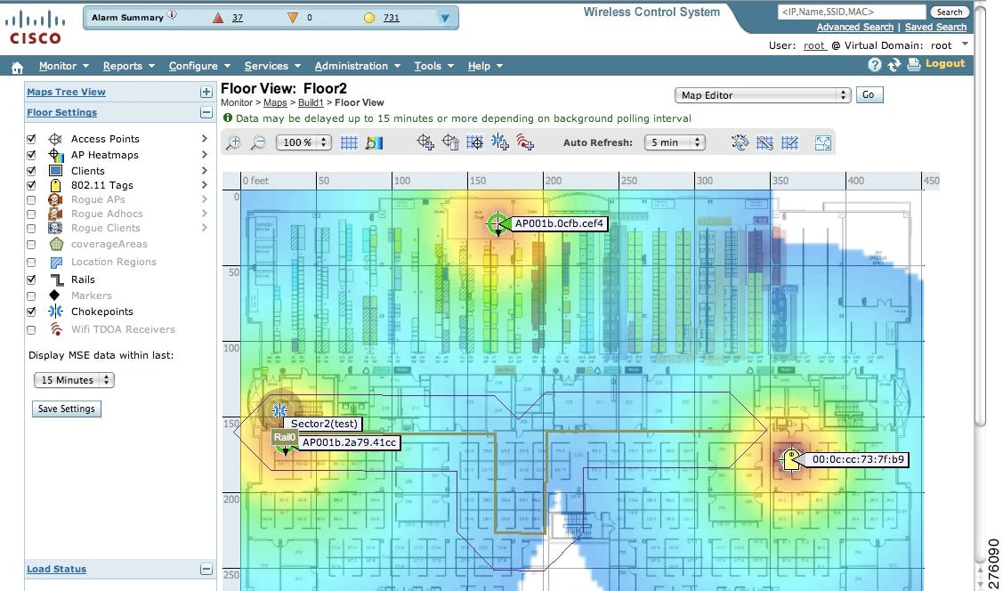 how to create a wifi heat map