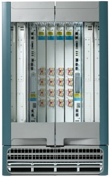 Cisco CRS-3 4插槽单机架系统
