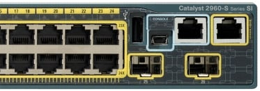 Gige Switch on From The Rear Of The Cisco Catalyst 2960 S Series Switch  The Lan Lite