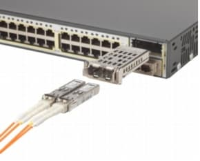Gigabit Ethernet Connector on Module Enables Migration From Gigabit Ethernet To 10 Gigabit Ethernet