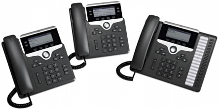Cisco 7800 Series IP Phones