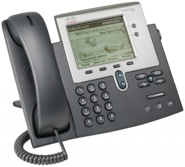 図 1 Cisco Unified IP Phone 7942G