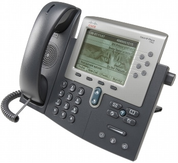 図 1 Cisco Unified IP Phone 7962G