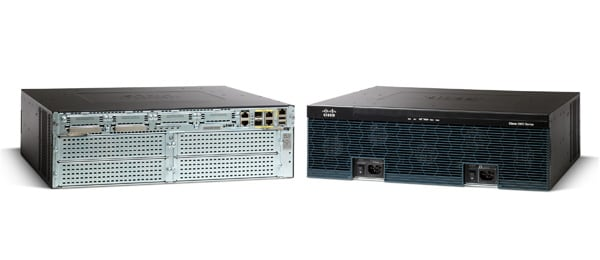 Routeurs � services int�gr�s de la s�rie Cisco 3900