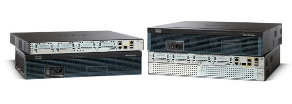 Routeurs � services int�gr�s de la s�rie Cisco 2900