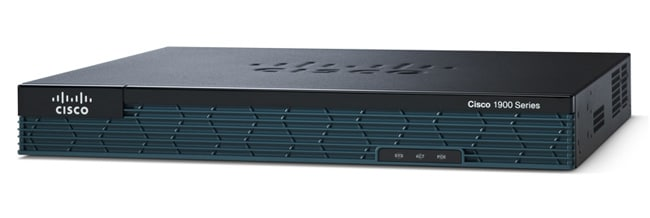 Cisco 1900 Series Integrated Services Router