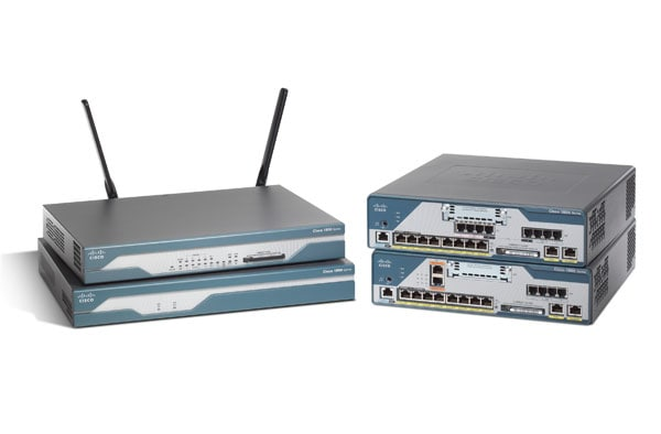 Cisco 1800 Series Integrated Services Routers