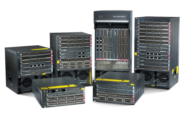 Cisco Catalyst 6500 �ø��� ����ġ