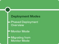 Section 2: Deployment Modes