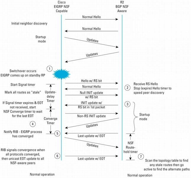Cisco Nonstop Forwarding with Stateful Switchover Deployment Guide
