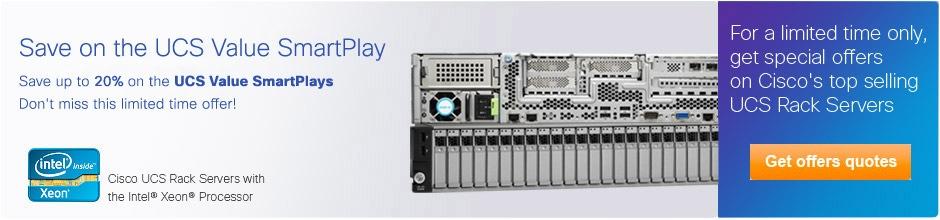 Descuentos en servidores Cisco UCS
