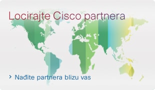 Locirajte Cisco partnera