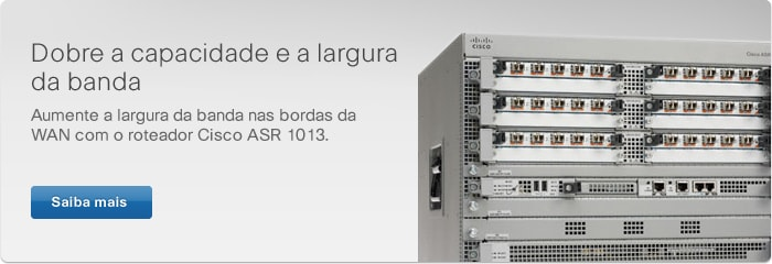 Roteador Cisco ASR 1013
