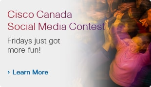 @CiscoCanada Twitter Contest #FunFriday