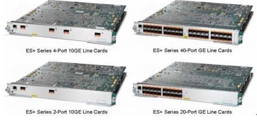 Cisco 7600 ES 增强型线卡