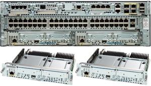 带思科 3945 集成业务路由器的思科服务就绪引擎 x86 刀片服务器