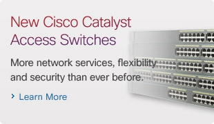 New Cisco Catalyst Access Switches