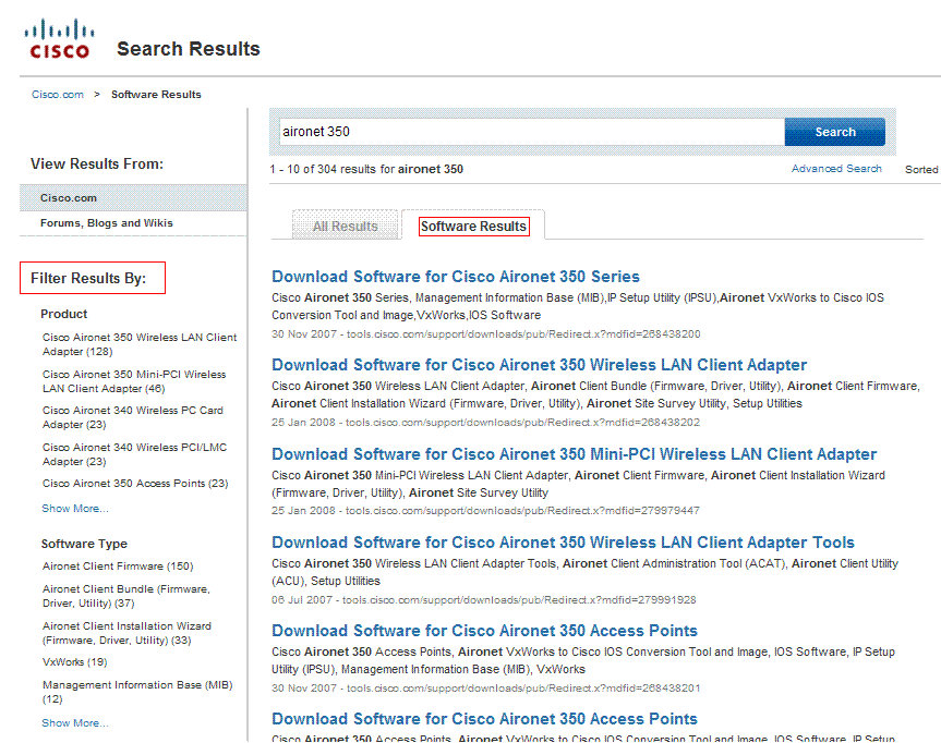 getting resume software filters