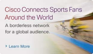 Cisco Connects Sports