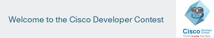 Welcome to the Cisco Developer Contest