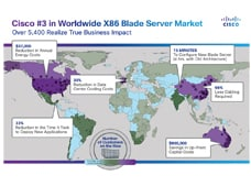 Cisco UCS Customer World Map July 2011