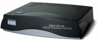 Cisco ATA 186 Analog Telephone Adapter