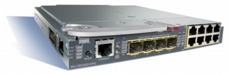 図 1 Cisco Catalyst Blade Switch 3020