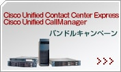 Cisco Unified Contact Center Express / Cisco Unified CallManager �T�[�o�[���L�o���h���L�����y�[��