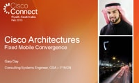 Cisco Architectures