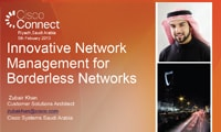 Innovative Network Management for Borderless Networks