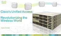 Cisco's Unified Access: