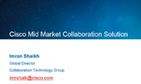 Cisco Mid Market Collaboration Solution