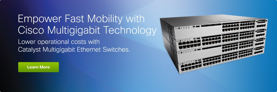 Empower Fast Mobility with Cisco Multigigabit Technology