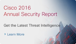 Cisco 2016 Annual Security Report