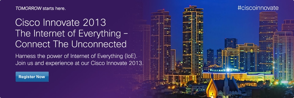 Cisco Innovate 2013