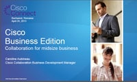 Cisco Business Edition
