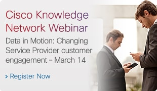 Cisco Knowledge Network Webinar