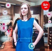 Cisco StyleMe Virtual Fashion Mirror