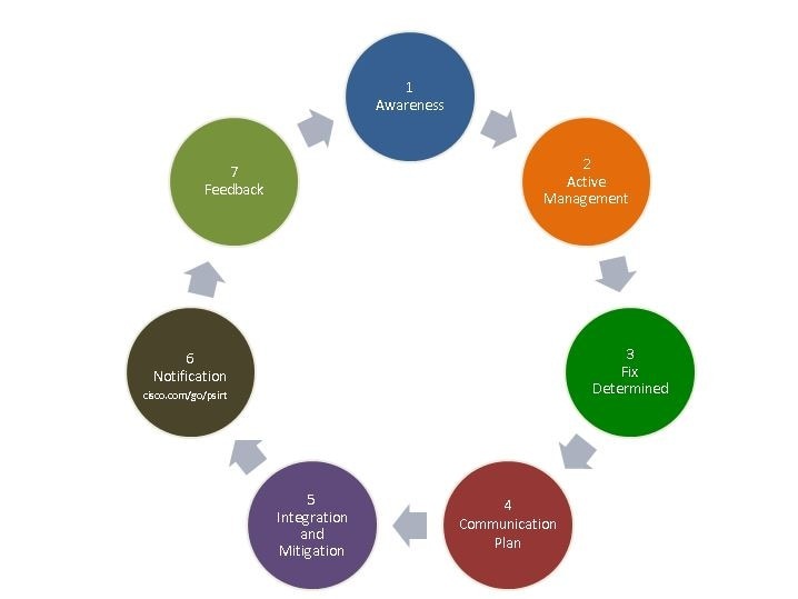 response process cycle from awareness to feedback