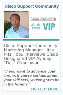 Cisco Designated VIP events